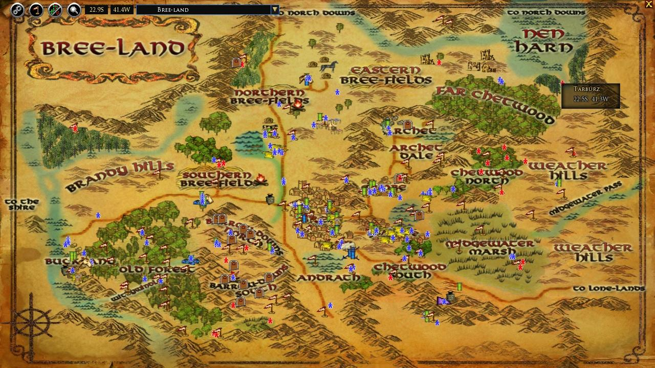 Lord Of The Rings Online World Map.Lotrointerface Moormap Moormap